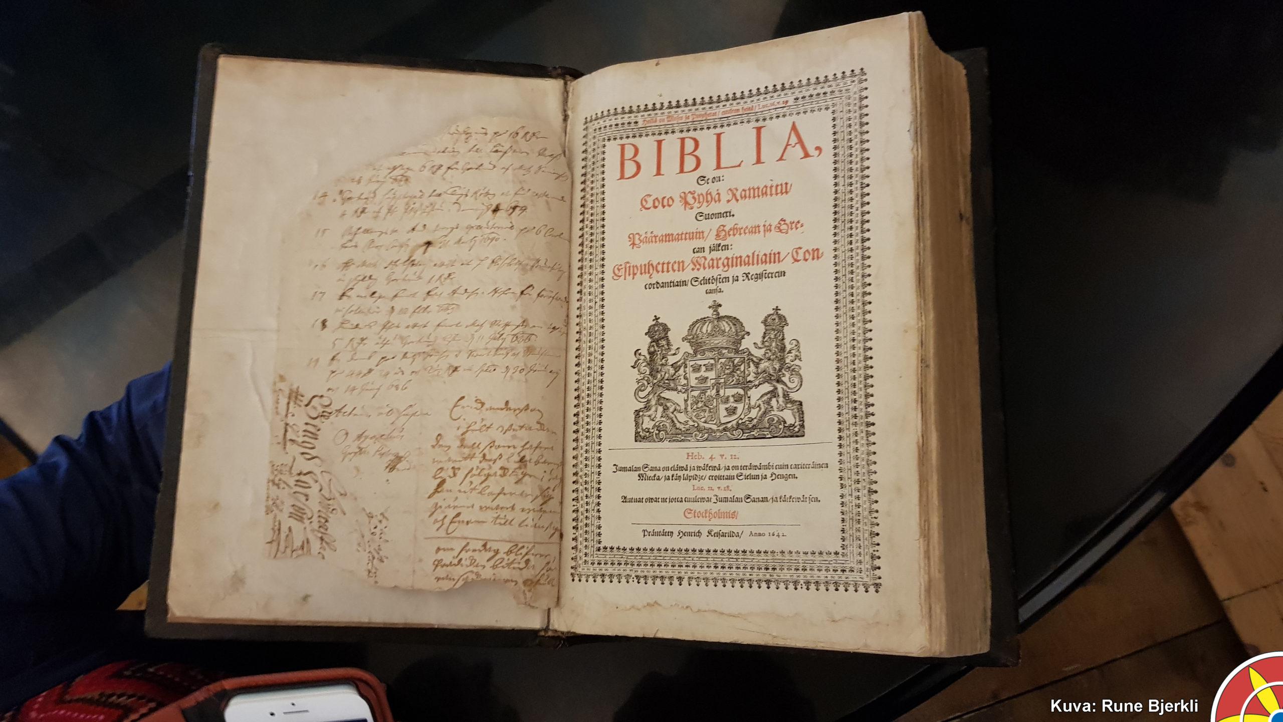 Michael Olavi Agricola 1548