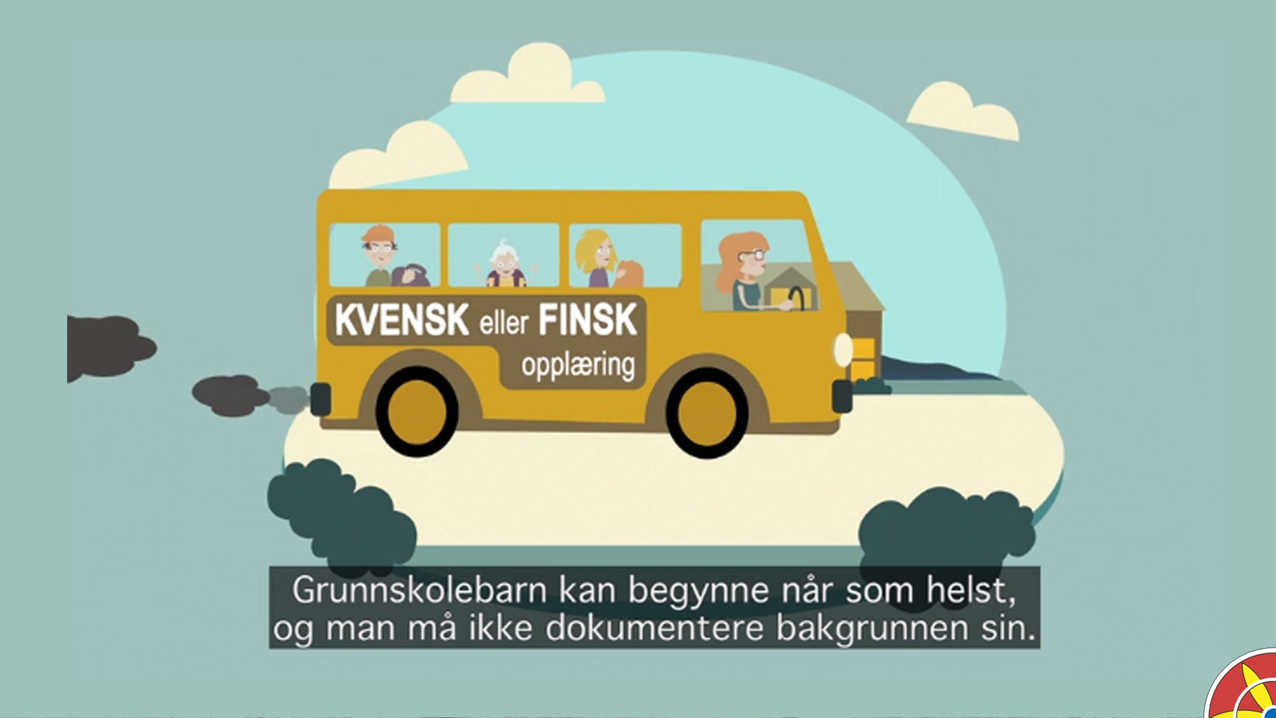 Udir og Leidar lager film om opplrøingsretten til kvensk eller finsk
