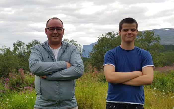Rune Bjerkli og Mathias Bergmo