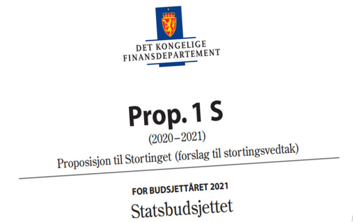Statsbudsjett 2021