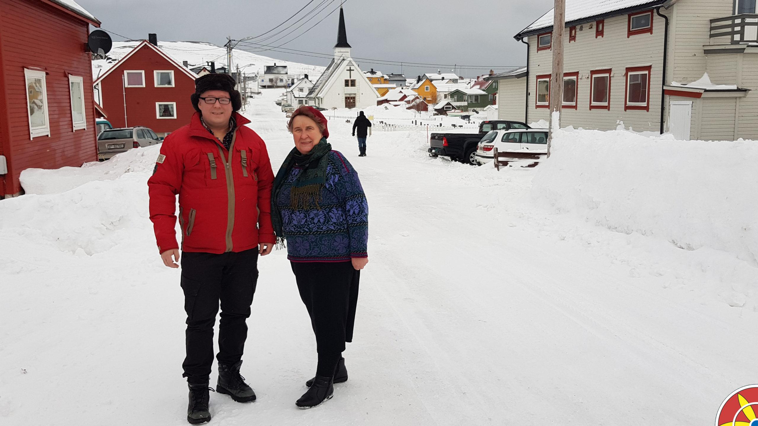 Elsa Ingilæ Haldorsen ja Rune Bjerkli